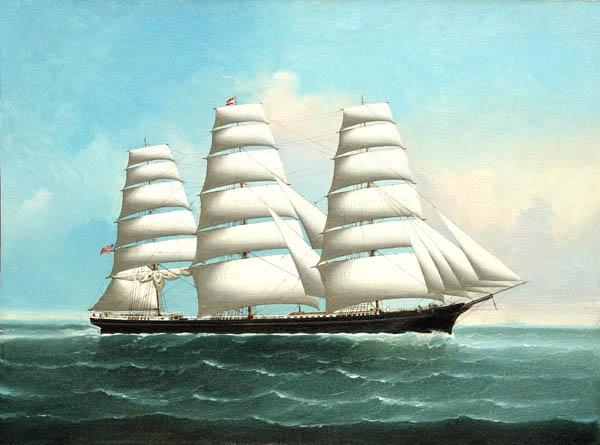 """Portrait of an American Clipper Ship"" Lai Fong"