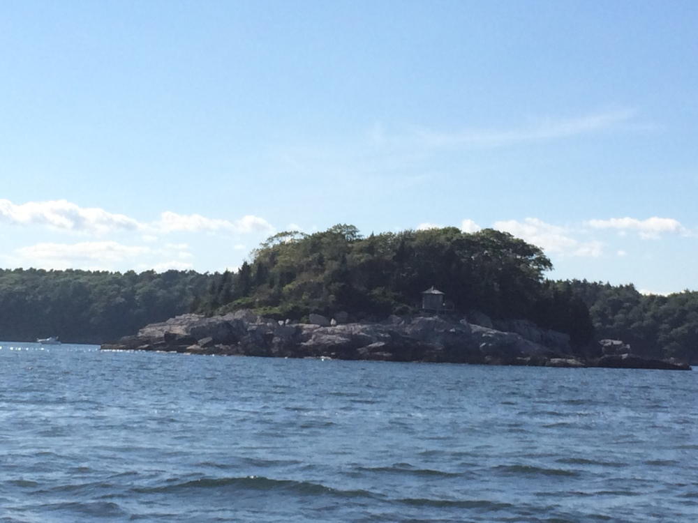 """Pumpkin Knob"" an island in Casco Bay off of Peaks Island"