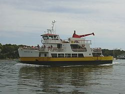 Maquoit II, one of the ferries of Casco Bay Lines