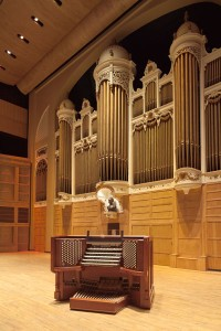 The Kotzschmar Organ. Photo Credit: Friends of the Kotzschmar Organ