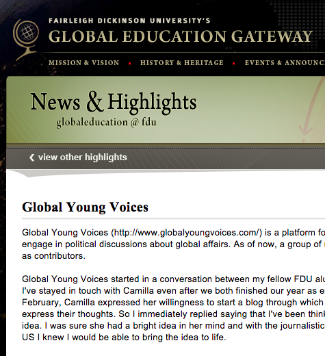 GLOBAL EDUCATION GATEWAY, USA