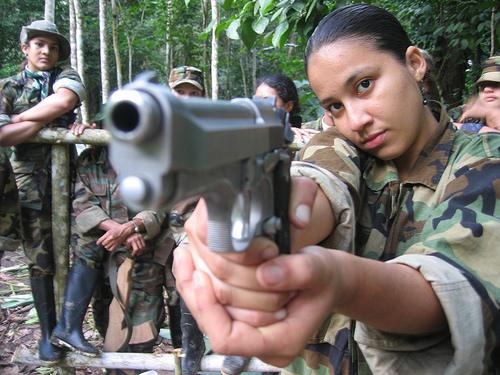 FARC CHILD SOLDIER. PHOTO CREDIT:justiceinconflict.org