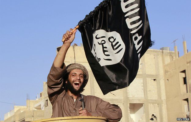 A militant islamist fighter. PHOTO CREDIT: BBC.CO.UK