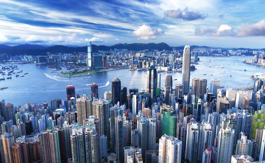 5. Hong Kong, China