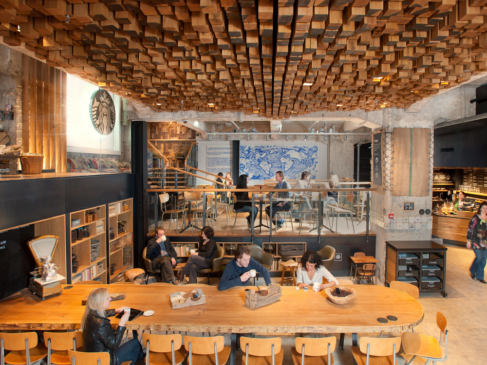 Starbucks Coffee store in Amsterdam. photo credit: www.businessinsider.com