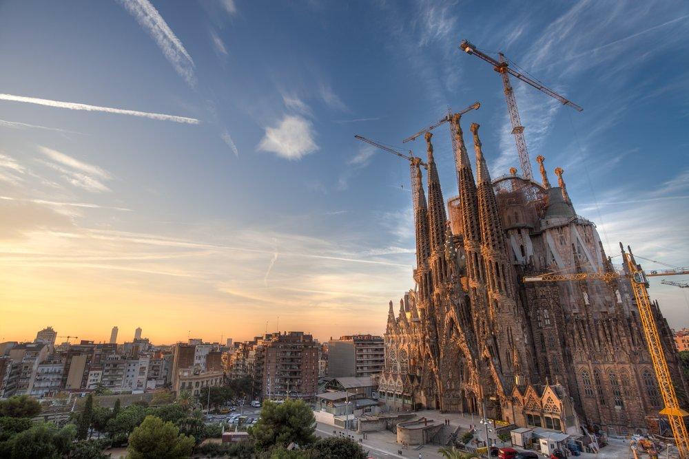 The Sagrada Família in Barcelona. Photo credit:travelhdwallpapers.com
