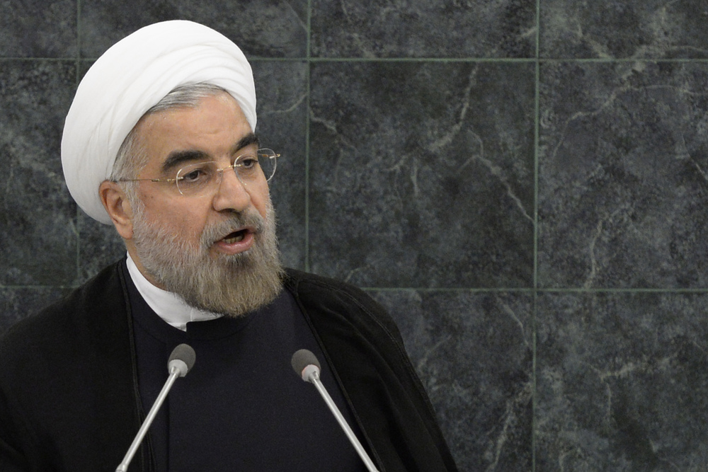 Iranian President Hassan Rouhani. Photo credit: Blogs.r.ftdata.co.uk