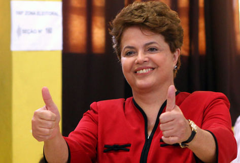 Brazil President Dilma Rousseff. Credit: Acritica.uol.com.br