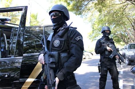 Brazilian Federal Police.Credit:Adelsoncarvalho.com.br