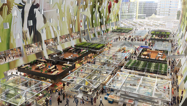 The inside of the Markthal. Credit: Nieuws.top010.nl
