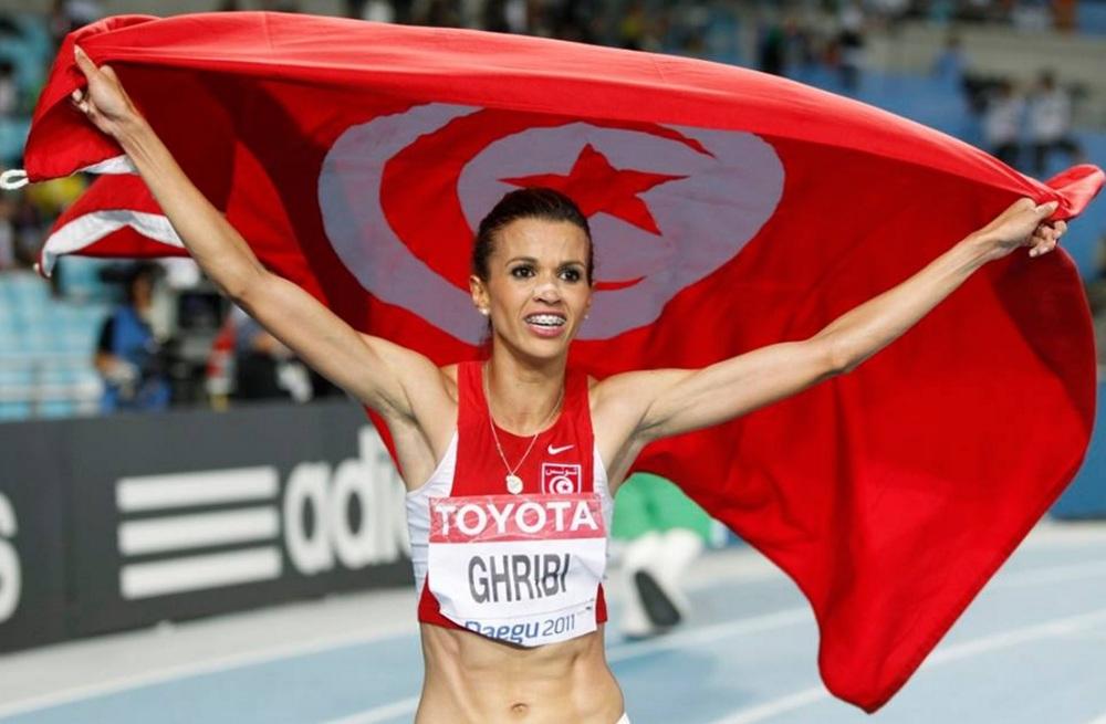 Habiba Ghribi. Credit: Africatopsports.com ( full link )