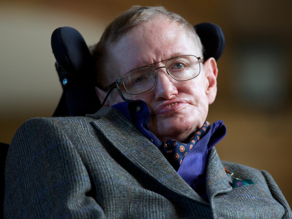 Professor Stephen Hawking, an expert on black holes but perhaps not on supranational politics. Credit: The Independent