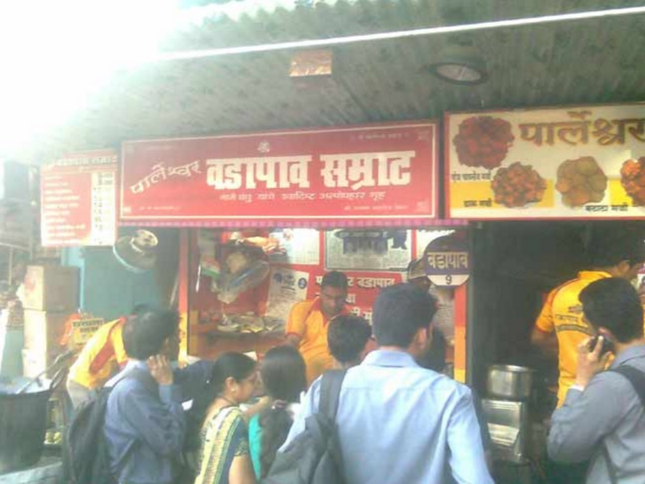 People in the line for Samrat Vada Pav. Credit:  Zomato