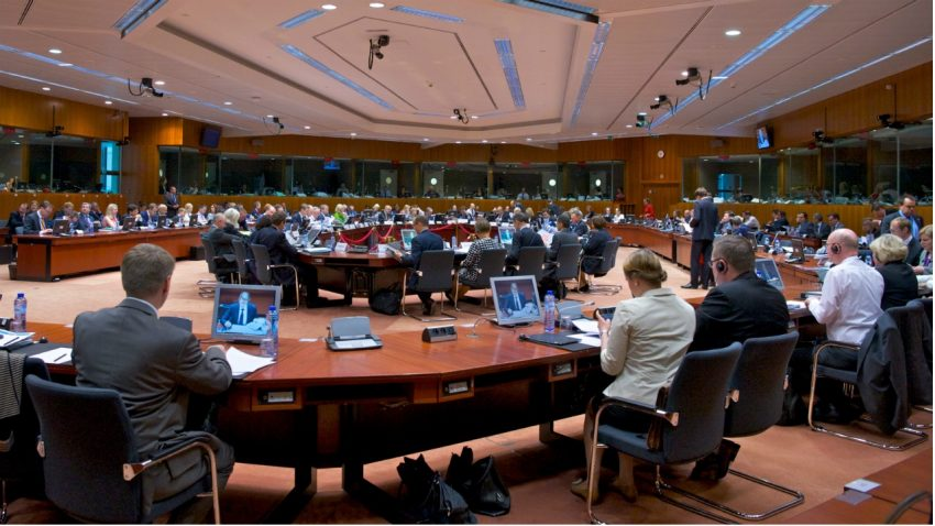 The Competitiveness Council meeting in Brussels, where European leaders called for an immediate open access to all scientific papers by 2020. Credit: EU Competitiveness Council