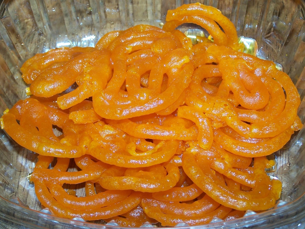 Sweet offered during Ramadan, Zlabia. Credit: Wikimedia
