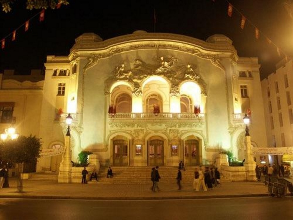 The Municipal Theater of Tunis. Credit: Radiomedtunisie.com (full link)