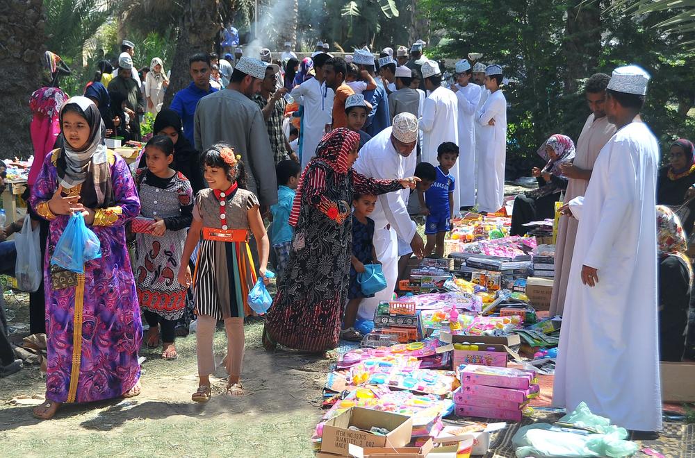 Alhabta market in one of the Omani villages. Credit: Alkhaleej Online
