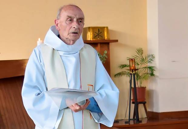 French priest who was killed by ISIS knifemen in Normandy. Credit: Belfasttelegraph.co.uk ( full link )