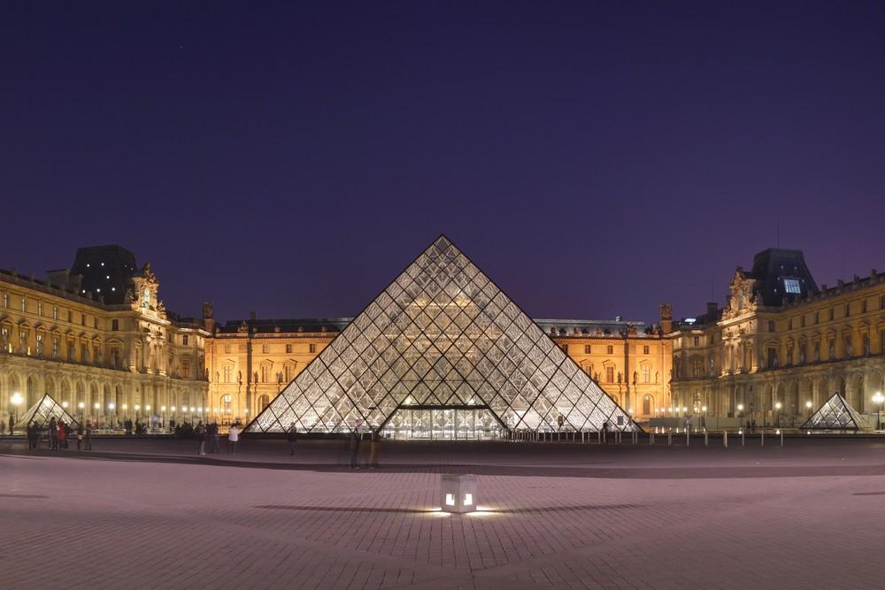 The Louvre. Credit: Wikimedia