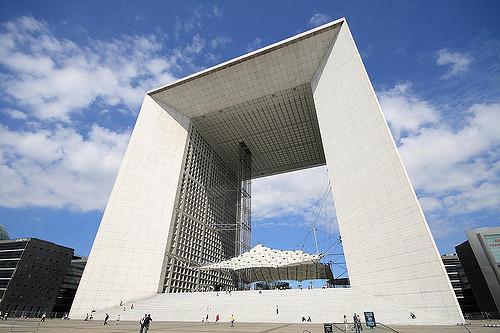 Grande Arche de la Défense.Credit: Flickr