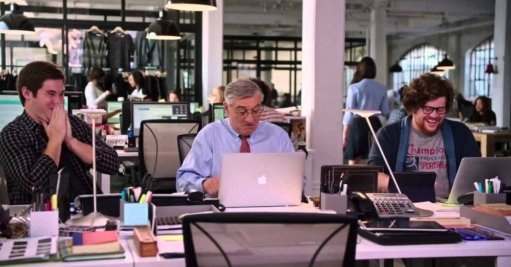 Still from The Intern movie. Cover credit:  Salem Web Network