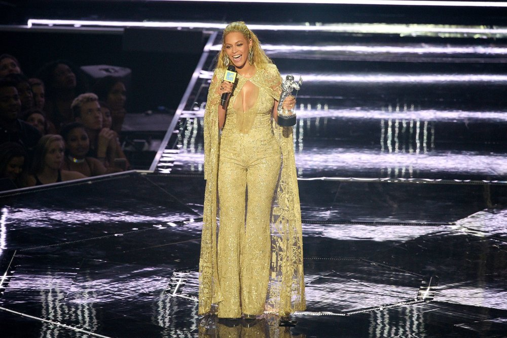 Beyoncé at the VMA. Credit: Jason Kempin/Getty Images Source: Vox