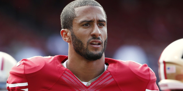 American footballer Colin Kaepernick. Credit: Stephen Lam/Reuters Source: The Huffington Post