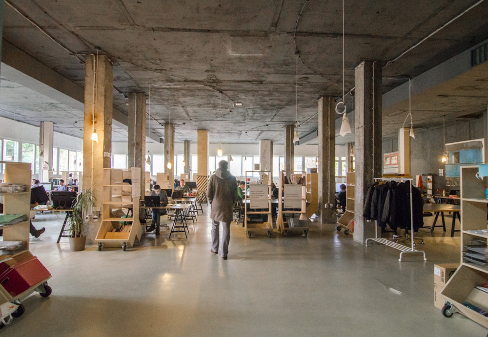 Co-working spaces in Sofia are becoming increasingly popular. Credit: Beta Haus