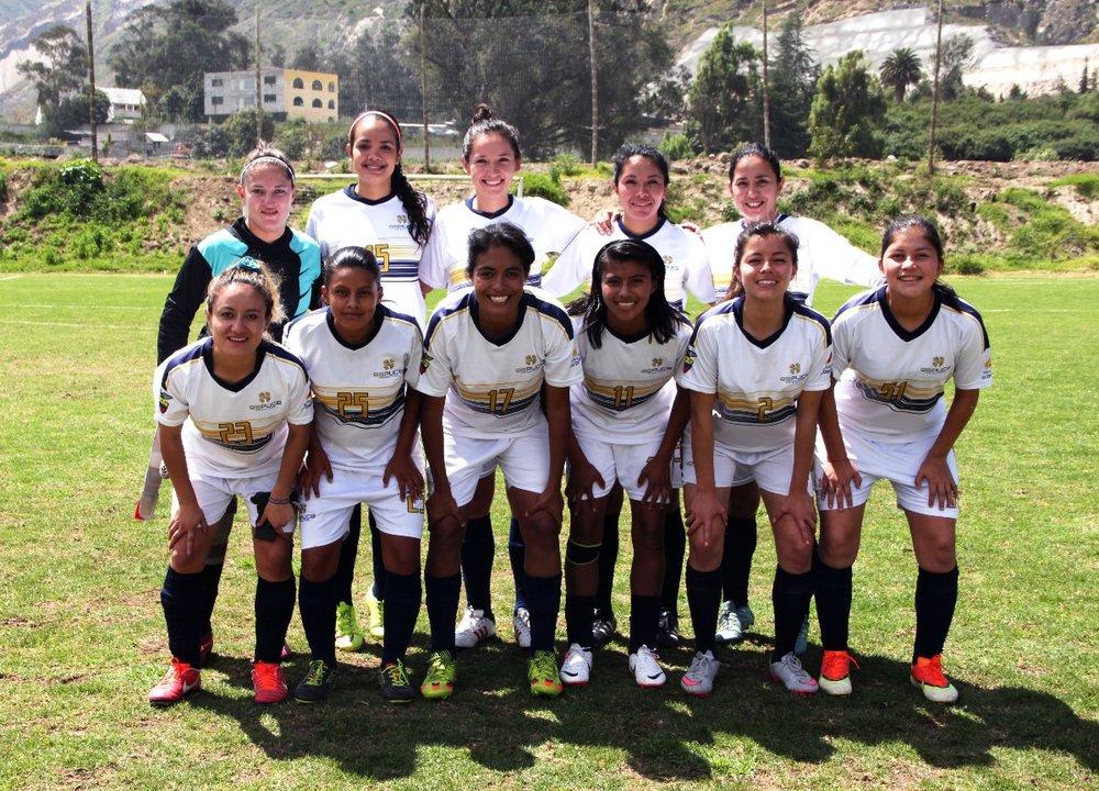 The Espuce team. Source: Espuce Facebook page