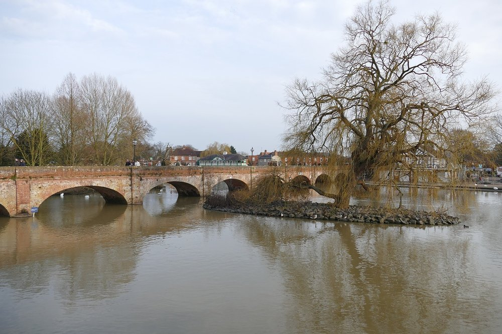 Current landscape from Stratford-Upon-Avon, town where Shakespeare was born. Credit: Pixabay