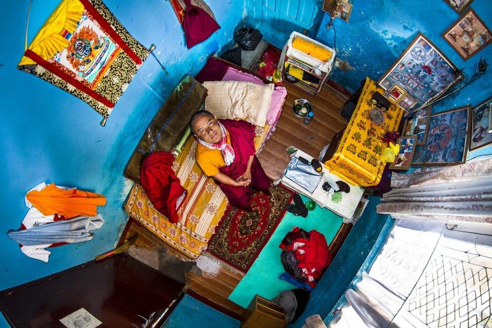 Room #385 of Pema in Kathmandu,Nepal.Credit:John Thackwray