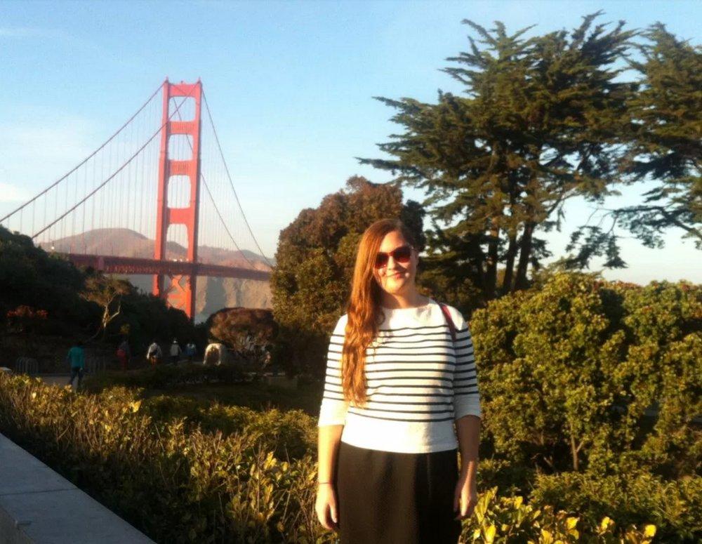 Traveling in San Francisco in December 2013.