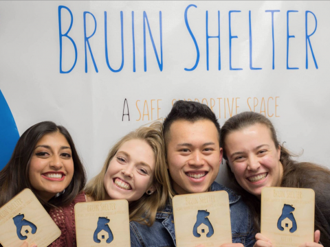 Th Students for Students shelter was formerly known as Bruin Shelter. Credit: Facebook/Bruin Shelter