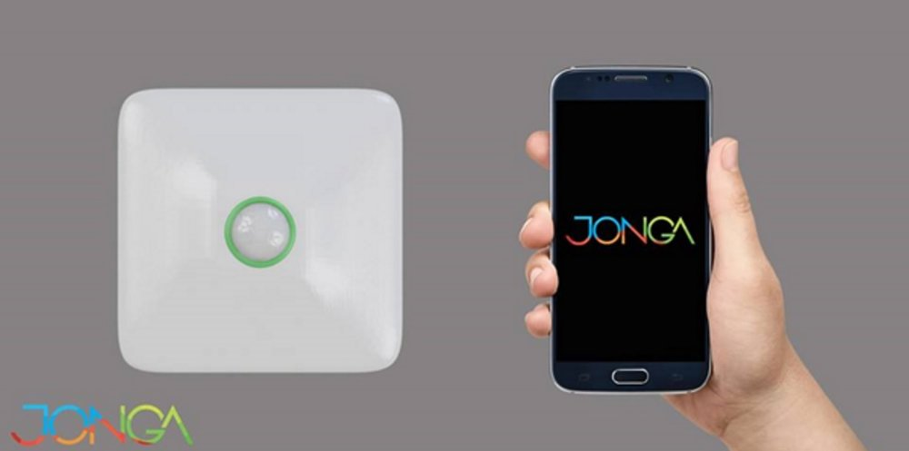 Jonga sensor and mobile application. Source: Jonga on Facebook