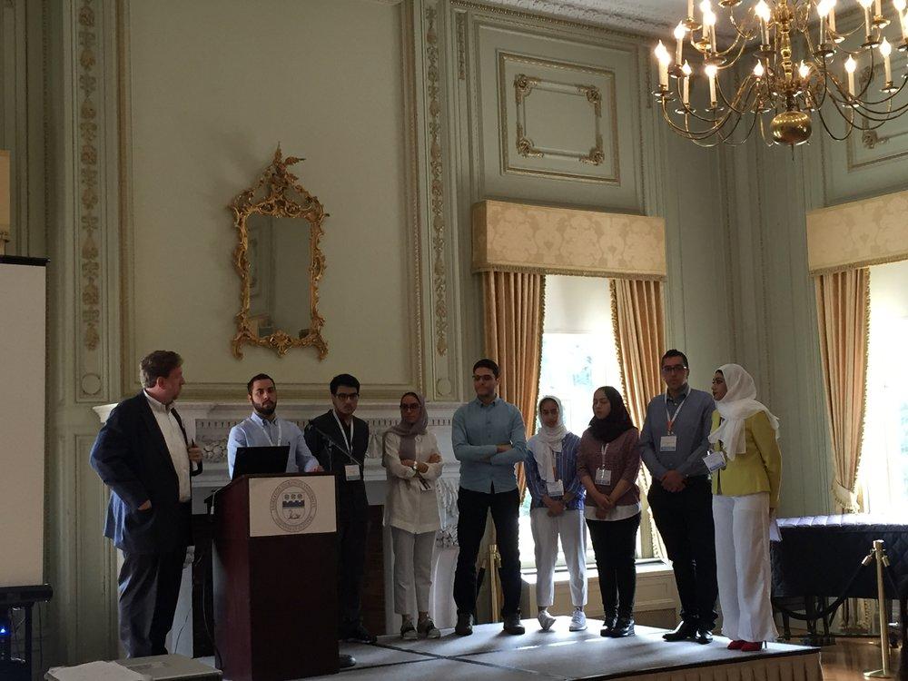 Winning Arab group