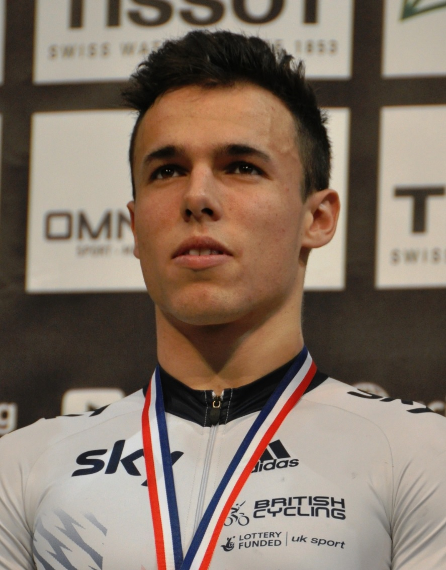 Athlete Ryan Owens on British cycling team Credit:  Wikimedia