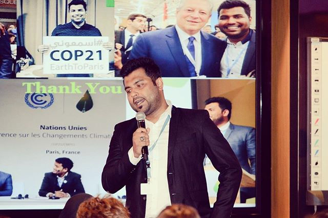 🚨 GYVSDGsCup Contestant Alert 🚨  Neeshad Vidyanagar Shafi is a finalist from Qatar who founded the very first platform in his country for discussing 💬 climate change and fostering environmental education, awareness and advocacy 📢 for youth.  If you want this Finalist's story to be the winner of the competition, go to our Facebook page to read the article and simply LIKE 👍 or put a POSITIVE REACTION 😍: that will be your vote!