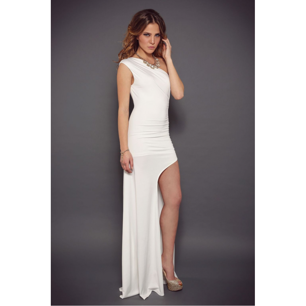 Abyss By Abby, Lola Dress (White)