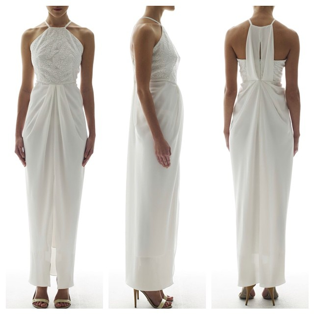 Unspoken, Draped Maxi