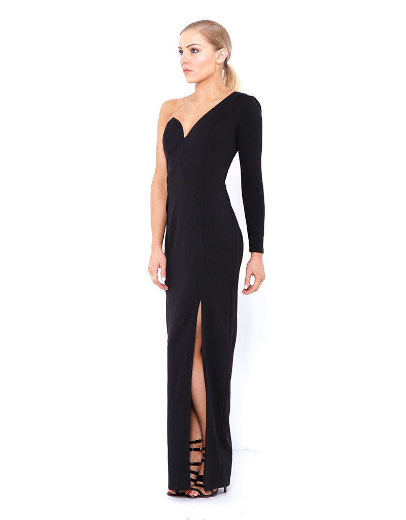 Bariano, Shay One Shoulder Gown