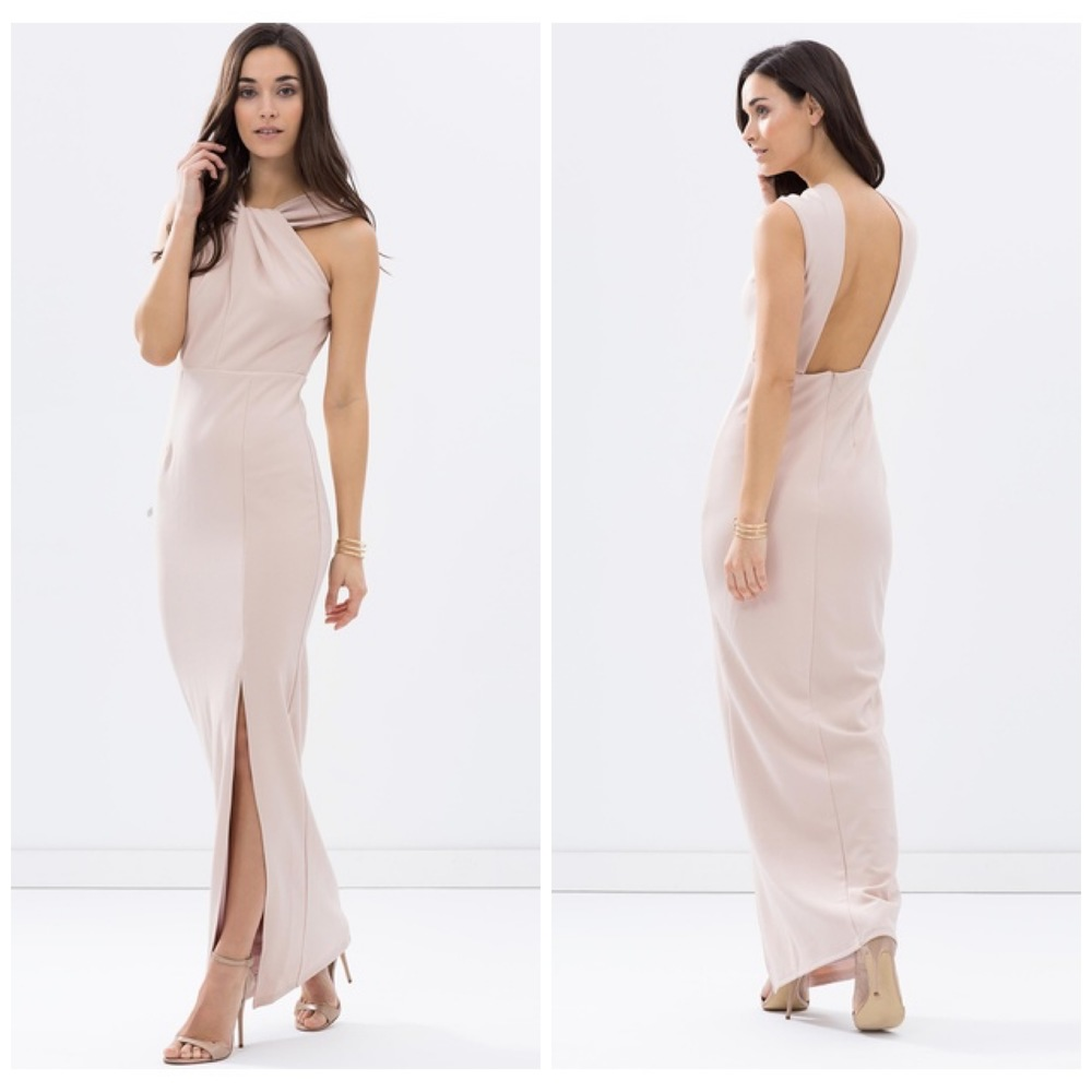 Fresh Soul, Twisted Halter Gown