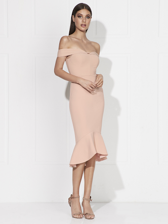 Love Honor, Rosetta Midi Dress