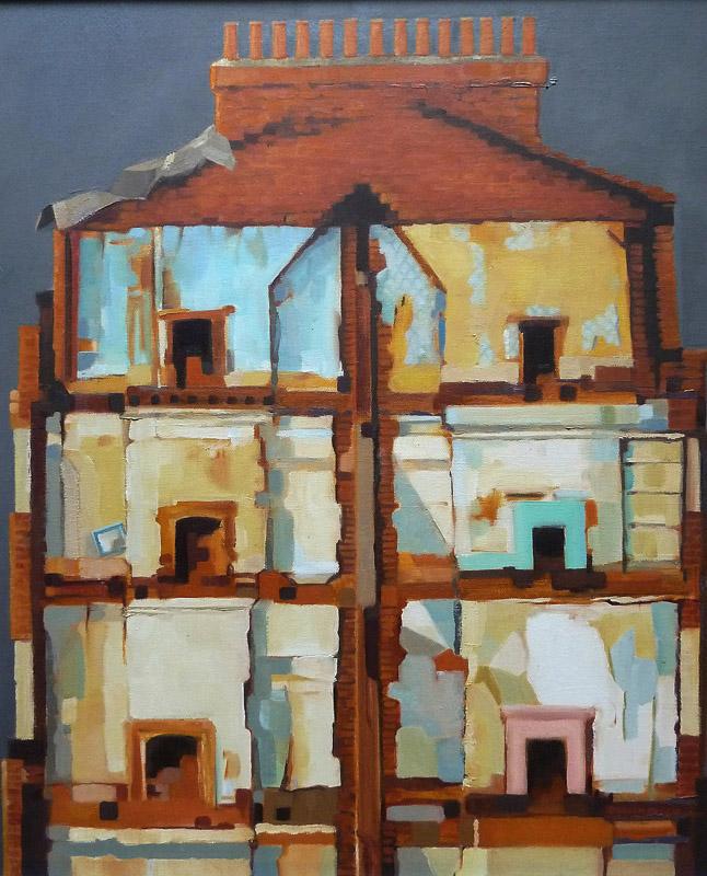 Exposure 2   64 x 54 cm  oil on canvas - 2010