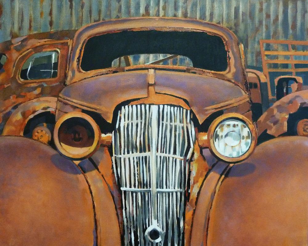 Sexy Beast!   78 x 64 cm oil on canvas  2011