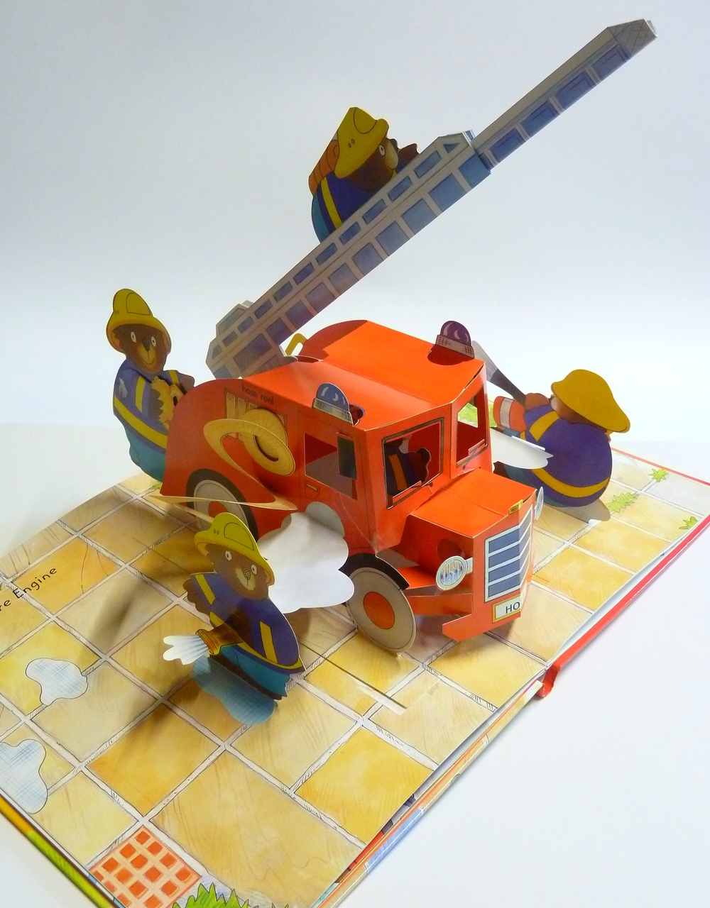 My Amazing POP-UP Fire Truck