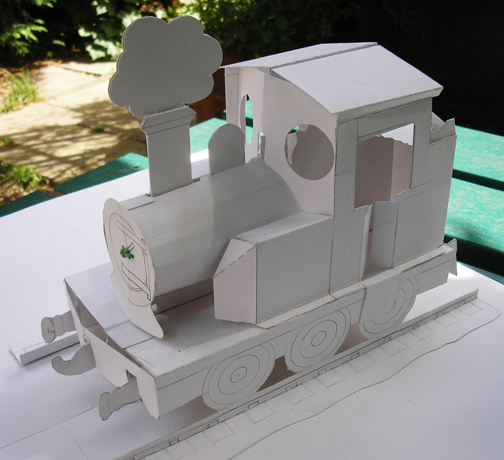 Pop-up Train