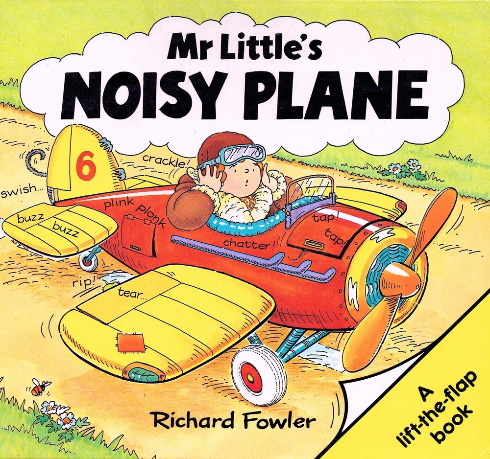 Mr Little's Noisy Plane