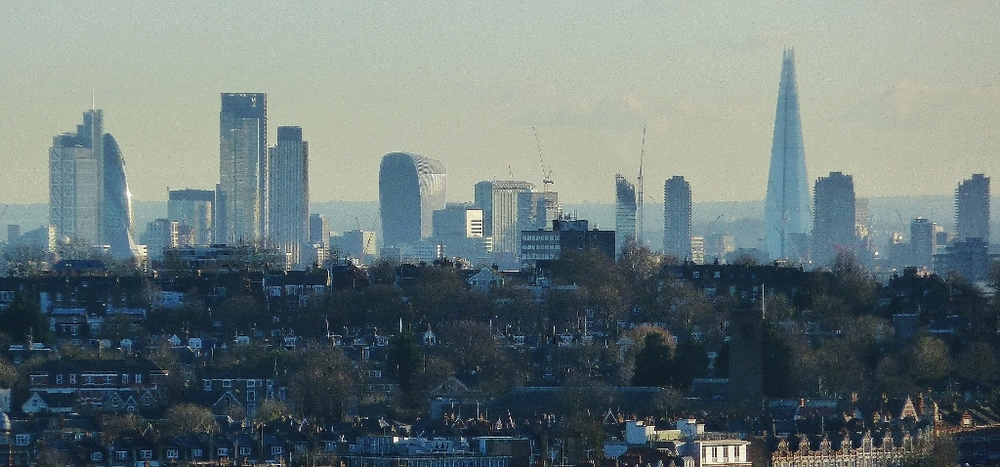 View from Ally-Pally