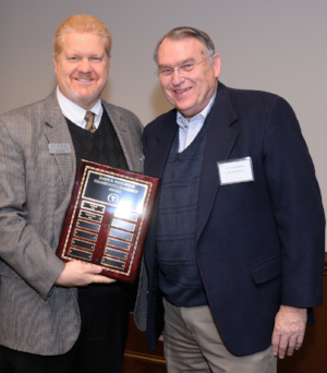 David York, Smith Moore Leatherwood         was the recipient for the             James R. Wahlbrink      Grassroots Leadership Award