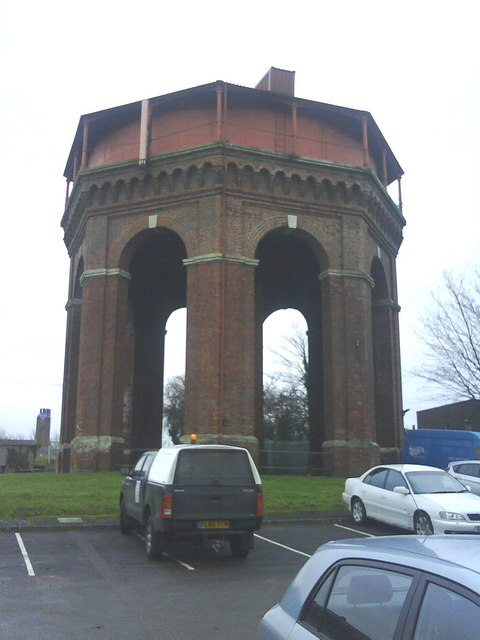 A Wessex Water water tower